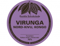 VIRUNGA 76% - Swiss Bean to Bar - 60g