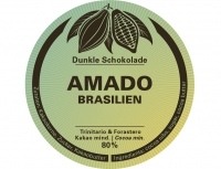AMADO 80% - Swiss Bean to Bar - 60g